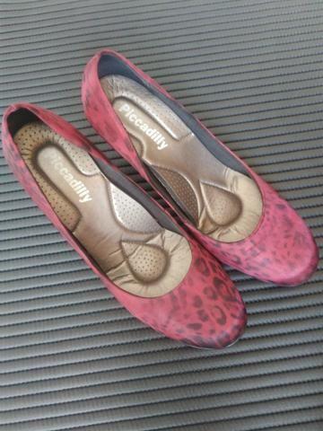 Sapato salto Picadilly