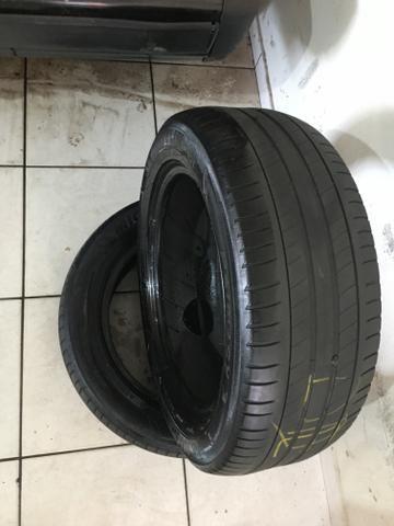 Par de pneus Michelin 205/55 R16 Honda City - Foto 4
