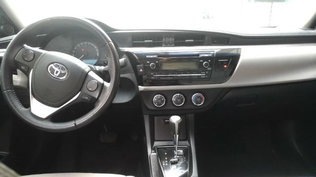 Corolla GLI Ano 2016/2017 Cor Prata R$64.900,00 - Foto 4