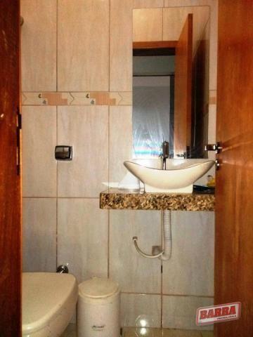 Qnj 36 sobrado com 4 dormitórios à venda, 350 m² por r$ 680.000 - taguatinga norte - tagua - Foto 17