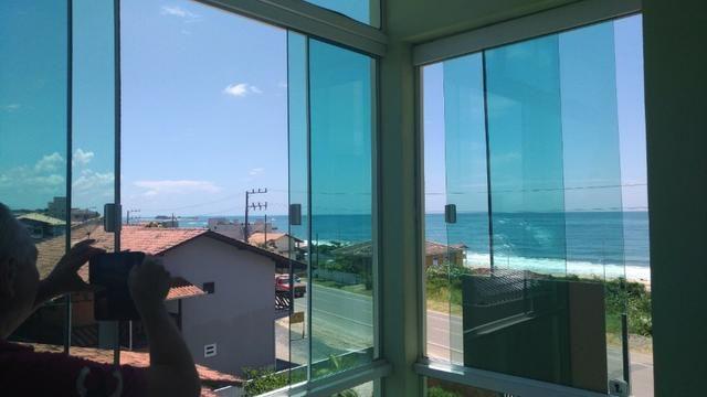 Lindo apartamento semi mobiliado com vista para o mar - Foto 4