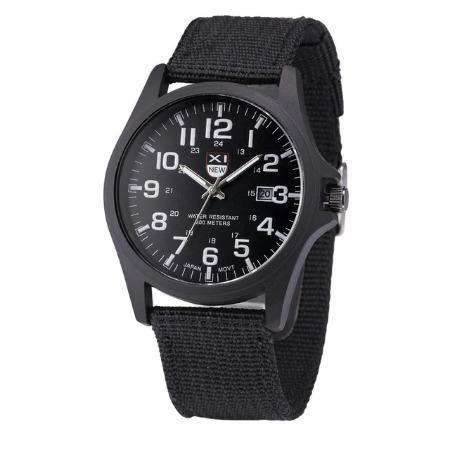 Relógio de Aço Inoxidável Quartz Analógico