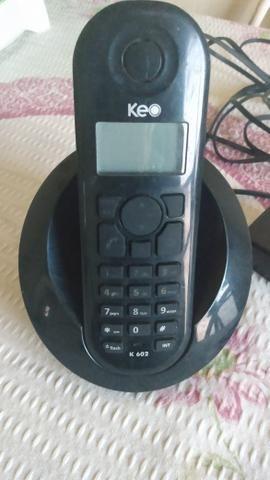 Um telefone sem fio preto - Foto 2
