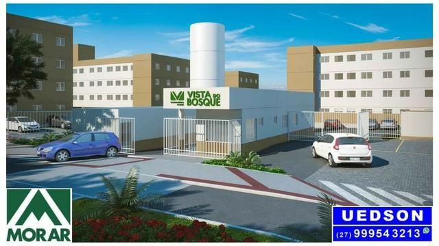 UED-35 - Apartamento 2 quartos perto do centro da serra - Foto 8