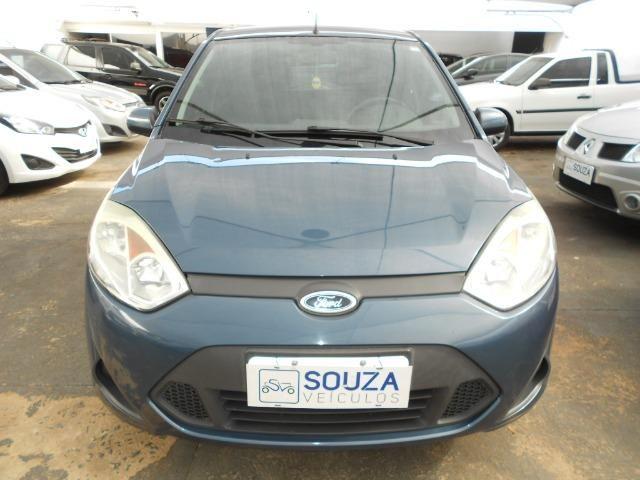 Ford fiesta hacth 1.6 flex 2012/2013 completo revisado lacrado ipva pago - Foto 2