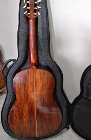 Aceito trocas por instrumentos musicais. Violão Antigo Di giogio mod 28 Classico de 1982 - Foto 3