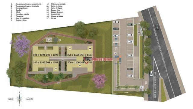 Apartamento com 2 quarto à venda, 48 m² por r$ 209.900 - palmeiras - belo horizonte/mg - Foto 11