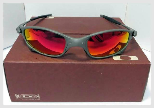 Óculos de sol Oakley Juliet xmetal Ruby Nova na caixa Frete grátis ... 5af4b1beb0