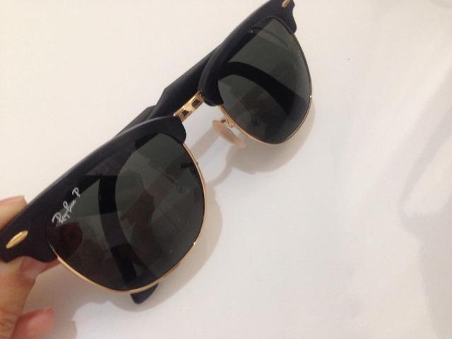 Óculos Ray-ban polarizado RB3507 Preto e dourado - Bijouterias ... 5e1be2cb7d