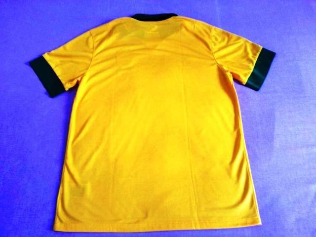 28e7c6f7d1 Camisa da Seleção Brasileira autografada pelo Cafu - NOVA - Esportes ...