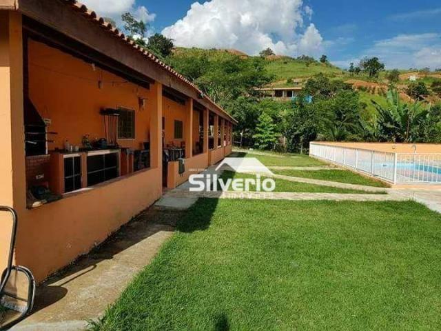Linda chácara no varadouro 31.000m² casa sede/caseiro, piscina, pomar, 02 poços artesianos - Foto 6