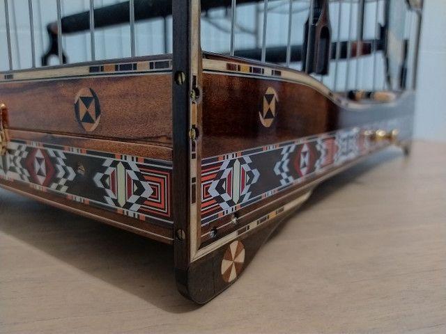 Gaiola trinca ferro super Luxo Parafusada - Foto 3