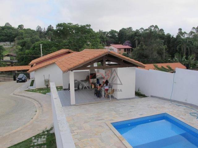 Casa nova 2 dormitorios, 1 suite, 2 vagas, piscina, em condominio Km 44 da Raposo. - Foto 17