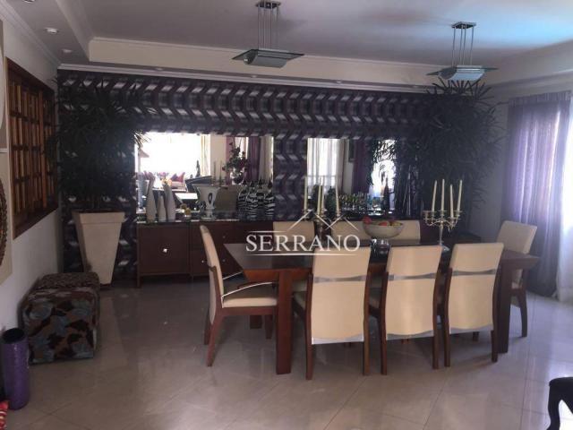 Casa com 4 dormitórios à venda, 390 m² por R$ 1.700.000,00 - Condomínio Villagio Capriccio - Foto 3