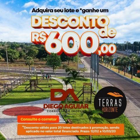 Loteamento infraestruturas pronta as margens da BR 116 Entrada a partir de R$ 280,00 - Foto 10