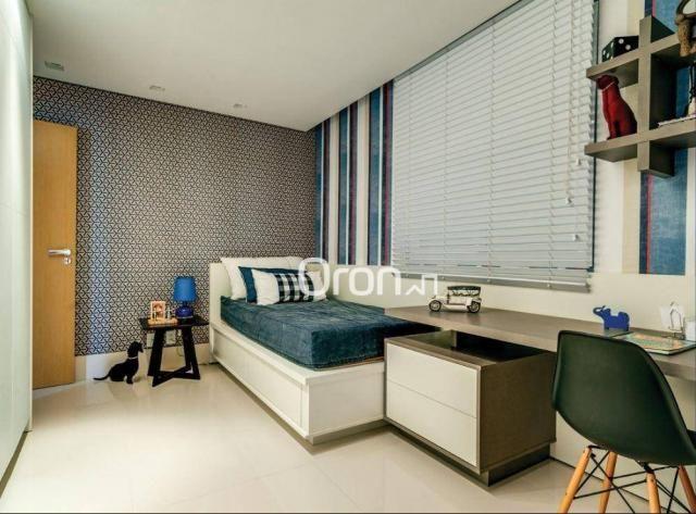 Apartamento com 5 dormitórios à venda, 382 m² por R$ 3.019.000,00 - Setor Oeste - Goiânia/ - Foto 14