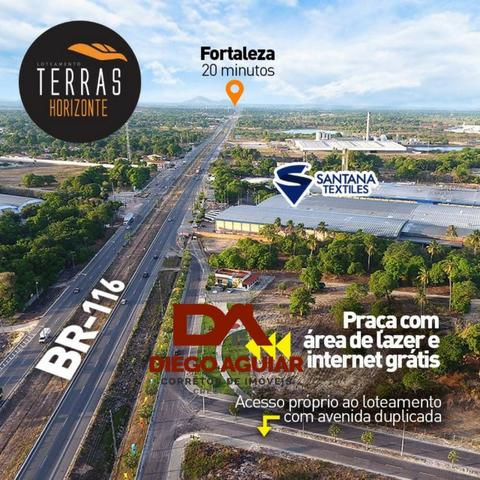 Loteamento infraestruturas pronta as margens da BR 116 Entrada a partir de R$ 280,00 - Foto 2