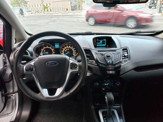 Ford Fiesta 1.6 Titanium 2015 Sedan. Um Dos Mais Novos De Campina - Foto 11