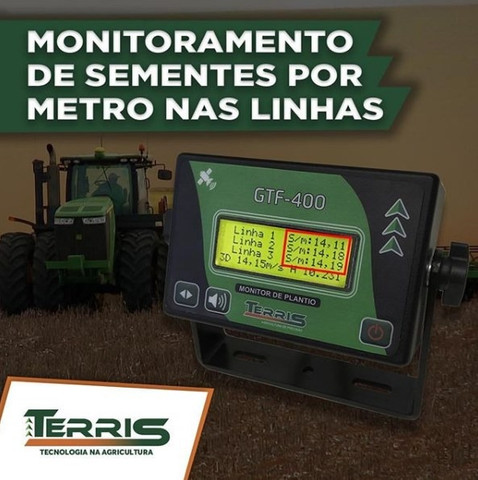Monitor de plantio conta grão GTF-400 - Foto 2