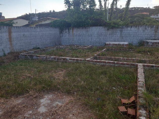 Lote 15x30 com base e radier feito, escriturado no forte Orange, Itamaracá  - Foto 2