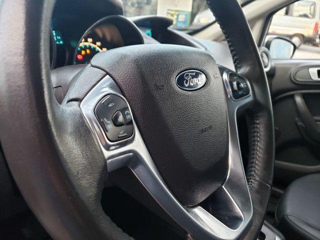 Ford Fiesta 1.6 Titanium 2015 Sedan. Um Dos Mais Novos De Campina - Foto 10