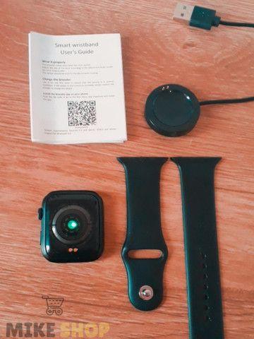 Relógio Digital Feminino Smartwatch Troca Foto Faz Ligação - Foto 5