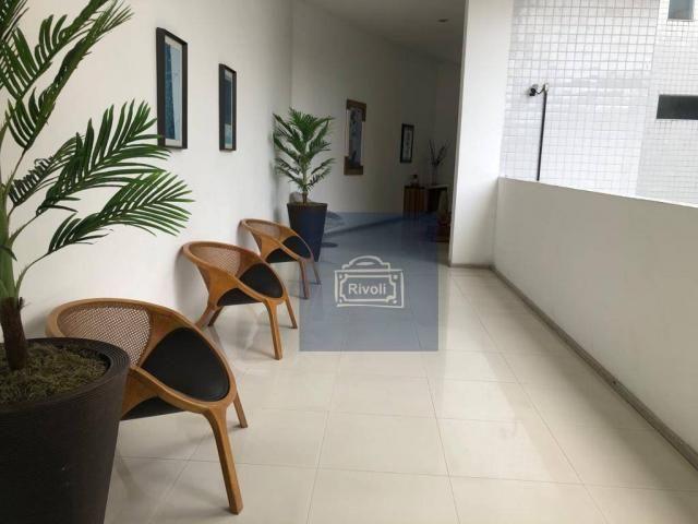 Apartamento para alugar, 48 m² por R$ 2.100,00/mês - Tamarineira - Recife/PE - Foto 17