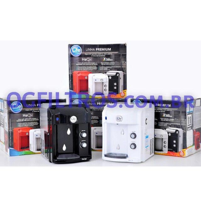 Purificador de água TopLife Alcaliniza, Ioniza e libera ozônio. - Foto 2