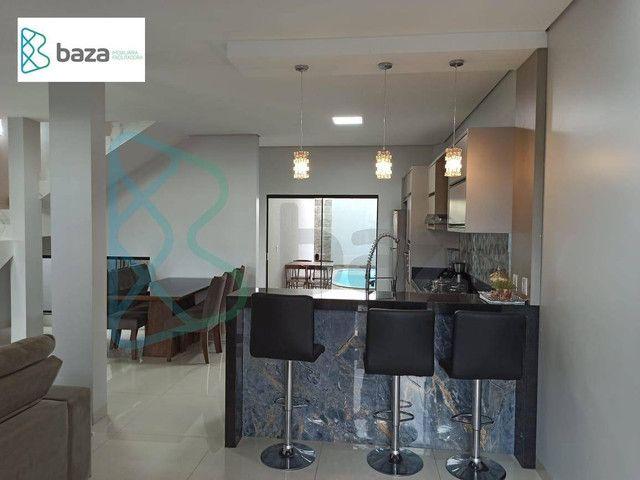 Sobrado com 3 dormitórios (1 suíte) à venda, 180 m² por R$ 700.000 - Residencial Deville - - Foto 5