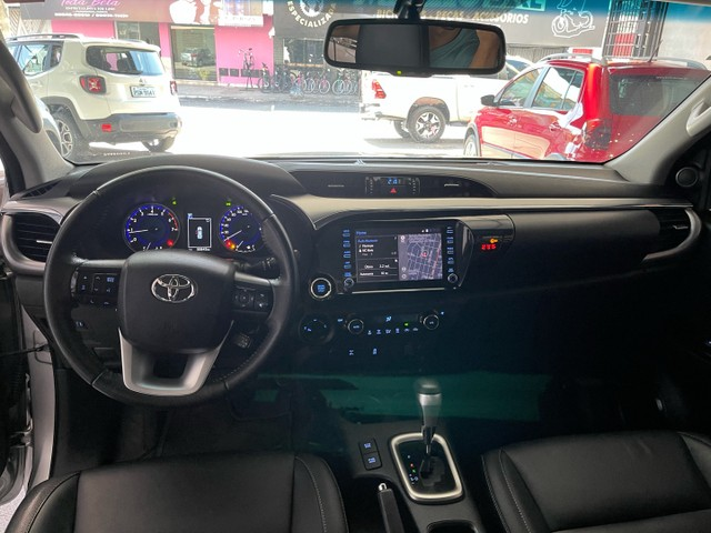 Toyota Hilux Srv Flex 4x4 2020 Garantia de Fabrica - Foto 12