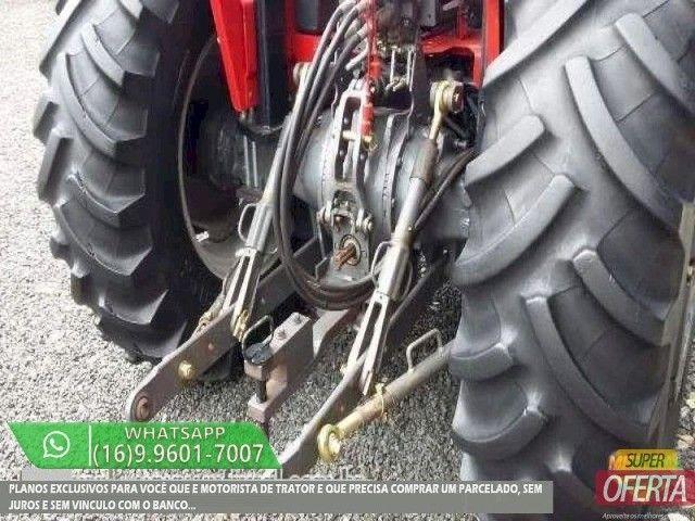 Trator Massey Ferguson 275 4x4 ano 05 - Foto 6