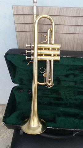 Trompete consert ct-440.em Do frab.japanesa quase Novo. - Foto 4