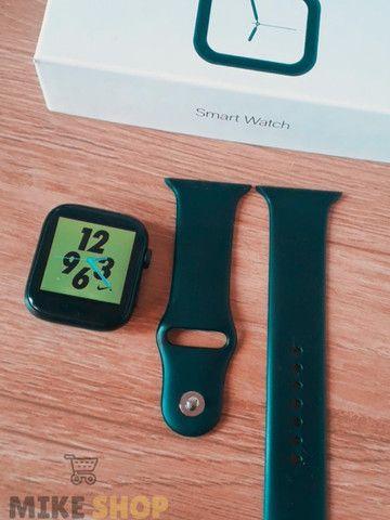 Relógio Digital Feminino Smartwatch Troca Foto Faz Ligação - Foto 6
