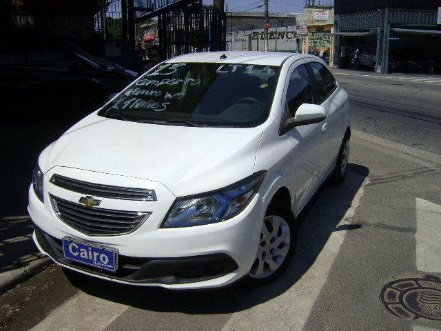 Chevrolet Onix 2013 1.4flex completo ar condicionado laudo aprovado baixa km - Foto 8
