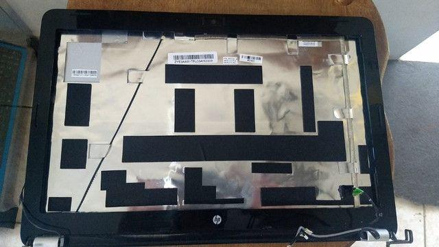 Chassi Base Da Tela Notebook G42 Prata (completo) - 072