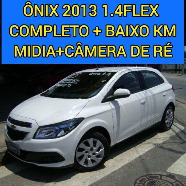 Chevrolet Onix 2013 1.4flex completo ar condicionado laudo aprovado baixa km - Foto 2