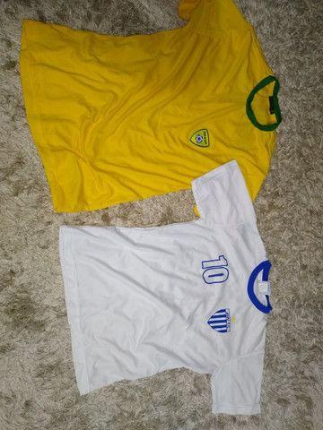 Camisa Seleção Brasileira Futsal e  Avaí originais