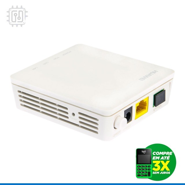 Terminal Gpon Huawei Echolife Hg8010 Modem Fibra Ótica Ftth