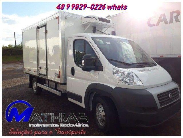 carroceria refrigerada 3/4 toco truck bi truck  para todos os tamnahos  - Foto 4
