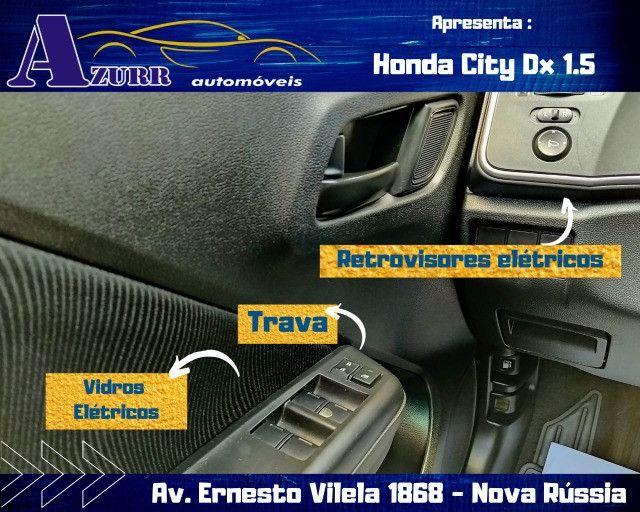 CITY AUTOMÁTICO CVT ÚNICO DONO PNEUS OKM PLACA A  IMPECÁVEL - Foto 10