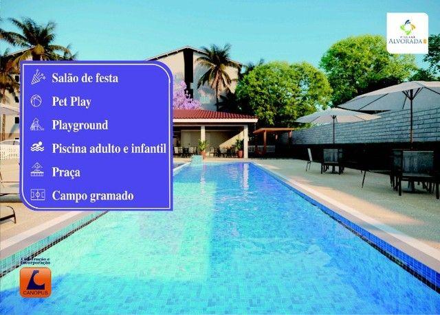 Oportunidade p/ Sair do Aluguel - Cond. Village Alvorada - Aptos c/ 2 quartos - Foto 4