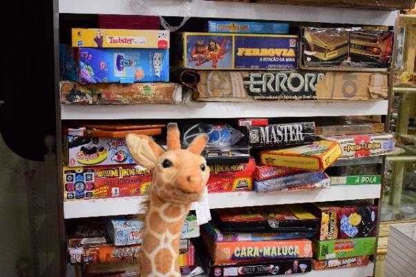 Brinquedos Antigos Diversos - Mercado das Pulgas
