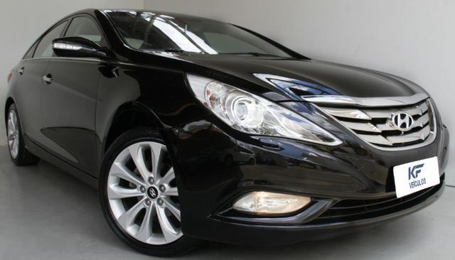 Hyundai Sonata GLS 2.4 Preto 2012 Completo Com Teto Solar