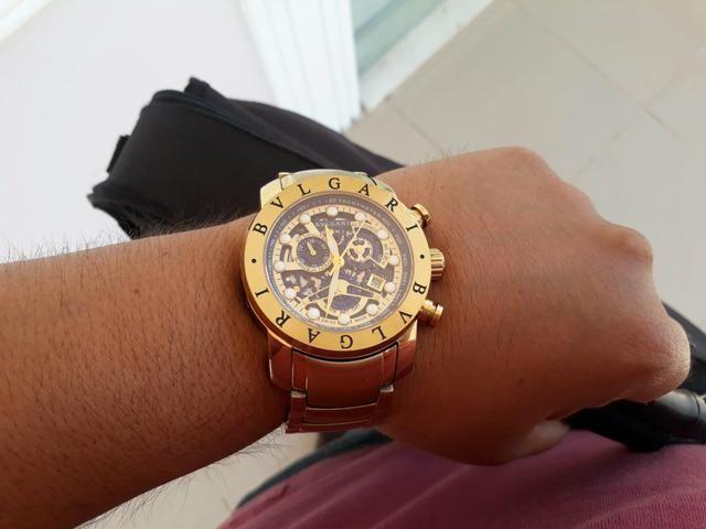 Lindo relógio Bvlgari. Leia o anúncio