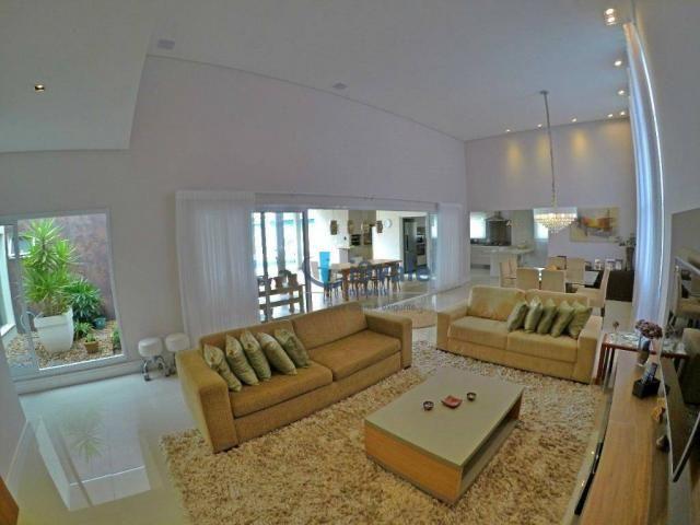 Linda casa térrea à venda, condomínio alto luxo mirante do vale, jacareí-sp - Foto 3