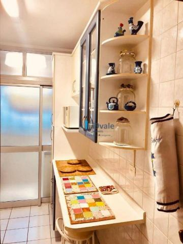 Apartamento com 3 dormitórios sendo 1 suíte à venda, 70 m² - vila industrial - são josé do - Foto 4