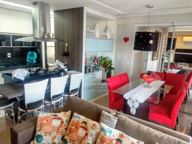 Apartamento no lago jacarey,74 m2,3 quartos,lazer completo,cidade dos funcionários - Foto 2