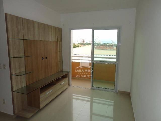 Apartamento villa bella mobiliado com 02 suítes; engenheiro luciano cavalcante, fortaleza - Foto 2