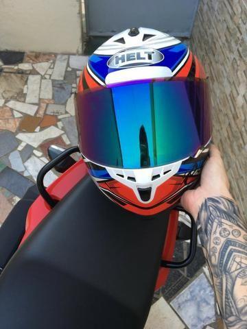 Vendo capacete helt New Race topppp - Foto 3
