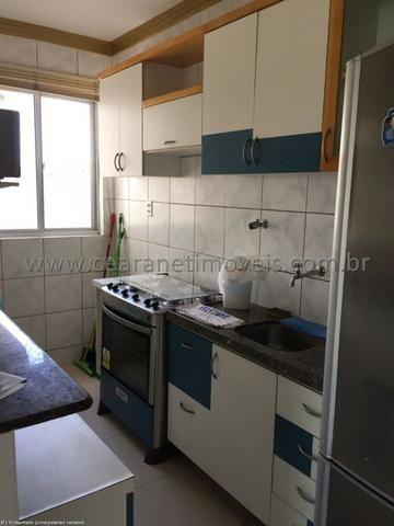 (Cod.:001 - Damas) - Mobiliado - Vendo Apartamento com 3 Quartos, 2 Vagas - Foto 4